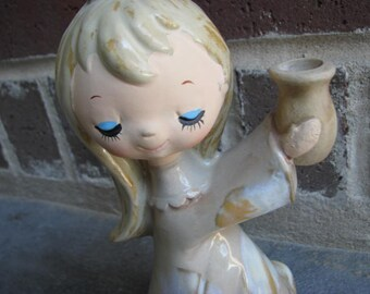 Vintage Little Girl Vase