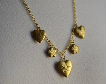 Long Distance LoveLocket Something New Bride Romantic Vintage Valentines Day Valentine Heart Love Flower Nostalgic Romance
