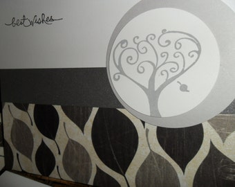 Tree  - set of 6 multi-occasion cards