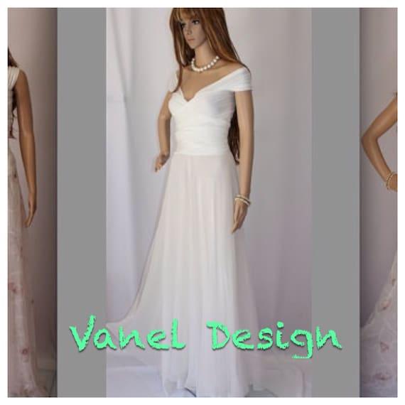 Chiffon Infinity Dress: Items Similar To Bridesmaid Dress Chiffon Convertible