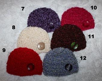 Newborn Boy Hat Baby Boy Hat Beanie Photography Photo Prop Chunky Hat Crochet Boy Hat Coming Home Hat Newborn Boy Photo Prop