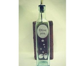 OLIVE YOU - olive oil dispenser