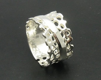 R000602 STERLING SILVER Ring Solid 925