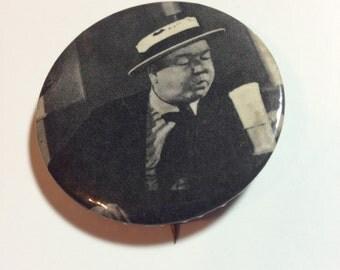 Vintage W.C. Fields Celluloid Pinback Button 1960s