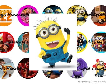 Minion Bottle Cap Images Automatic JPG Download