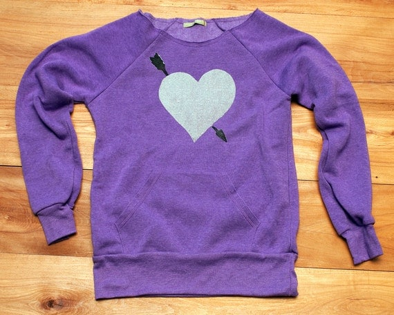 your'e my favorite Heart Sweatshirt, Heart Sweater, Valentine's Day, Anniversary Gift, S,M,L,XL