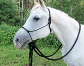 Riding Rope Halter WITH reins for Lauren