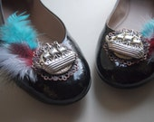 Pirate Ship Shoe Clips