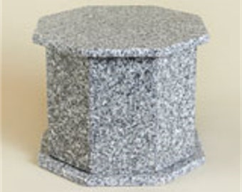 Granite Cremation Urn Rock of Ages Barre Gray
