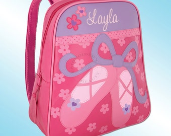 Backpack - Personalized and Embroidered - Go Go Bag - BALLET SHOES