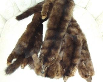 Vintage Mink Wearable Stole