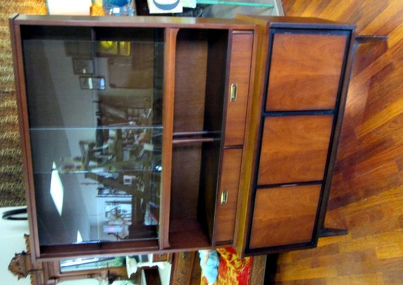 Exceptional Items Similar To Mid Century Danish Modern Garrison Furniture Co. China  Hutch Price Reduced ! On Etsy