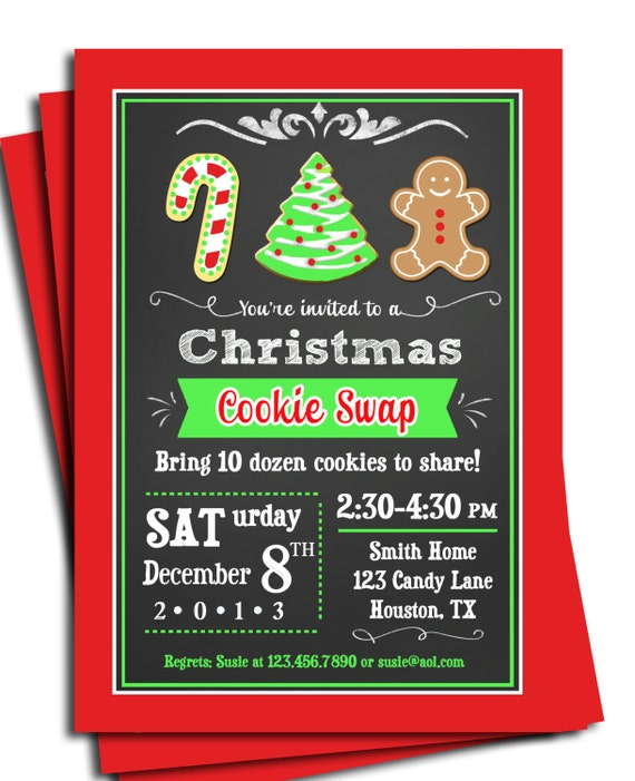 Cookie swap exchange birthday baby shower cookie decorating by