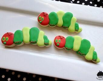 The Very Hungry Caterpillar Sugar Cookies - 1 DOZEN