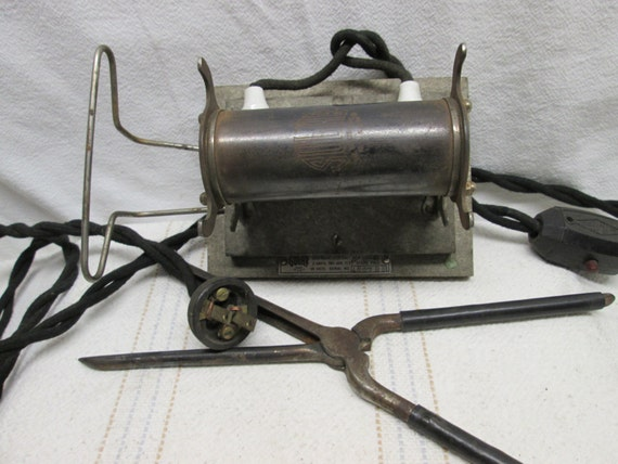 Electric Irons From The 1900s ~ Sulhr electric hair curler or iron s