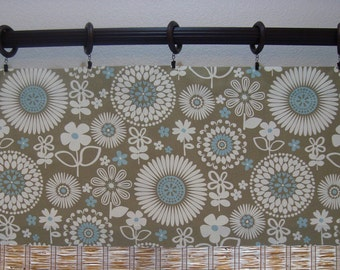 Waverly Gemma Kitchen Curtain Kitchen Valance 52x12 52x14 52x16 52x18