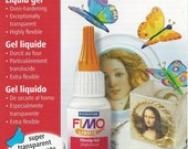 FIMO Deco Gel - Liquid polymer clay 50ml bottle This is for ONE (1) bottle of Fimo Gel.