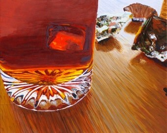 oil painting, abstract painting, still life painting,