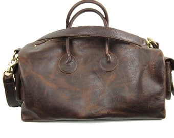 Gym, Overnight, Carry All Bag Leather