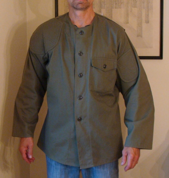 vintage marine corp shooting jacket size large excellent cond