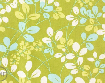 Half Yard Simply Color Sprigs in Lime Green, Vanessa Christenson, V. and Co., Moda Fabrics, 100% Cotton Fabric, 10801 18