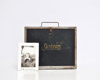 Antique Sunbeam Iron Box