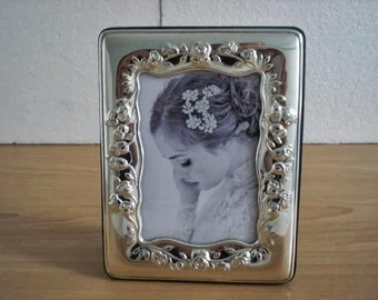 Wedding Gift Handmade Sterling Silver Photo Picture Frame 954 9x13 GB new