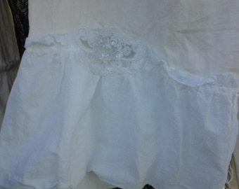 Southern Sophistication Bloomers of the alabaster and lace line