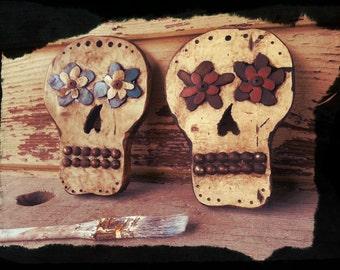 Rustic Sugar Skulls
