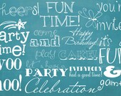 INSTANT DOWNLOAD - Pack of 12 Photoshop Brushes AND Overlays for Parties