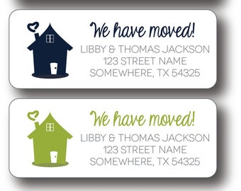 Return Address Labels - We Have Moved!