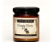 SALE: Candy Corn scented soy Halloween candle