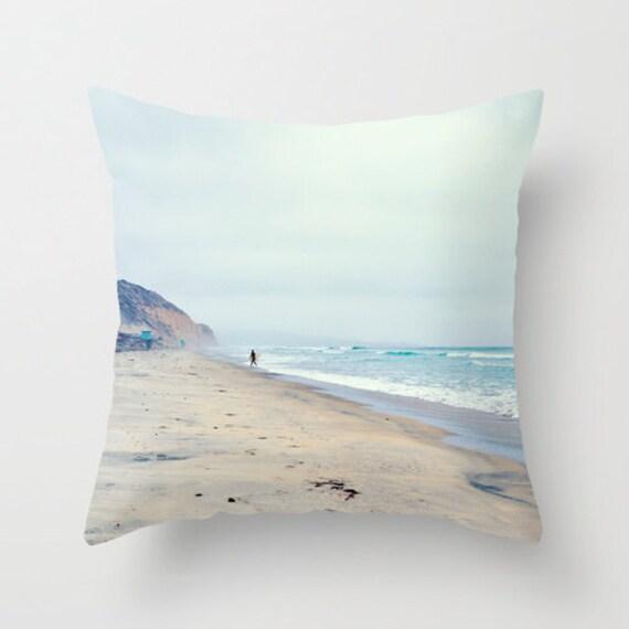 Beach Home Decor Pillows: Surfer Pillow Beach Decor Throw Pillow Surf Pillow San Diego