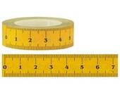 Fun Paper Washi Tape - Yellow Ruler (15M)