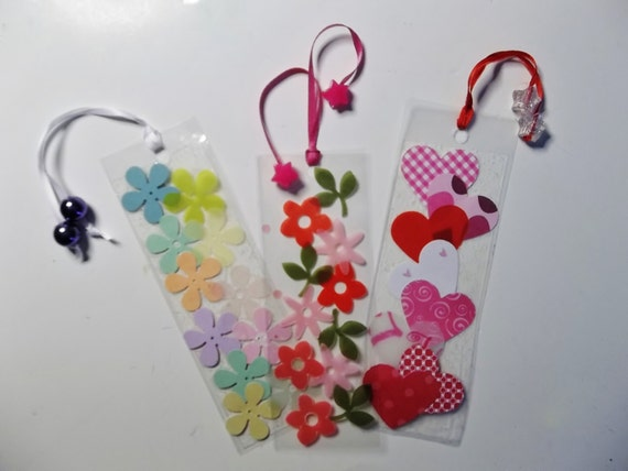 Flower BOOKMARKS (2) Craft Kit