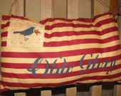 Flag,  Americana , with crow