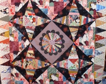 Asian Strings quilt pattern
