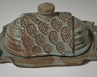 Ceramic Butter Dish Etsy