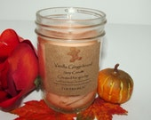 Vanilla Gingerbread Soy Candle or Sugar Cookie Soy Candle You Choose Scent