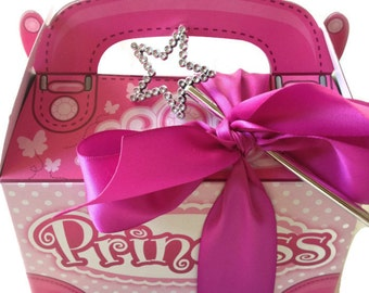 Princess Party Favor Box-Set of 10