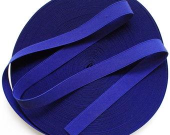 "1"" Cobalt Blue Stretch Elastic Band"