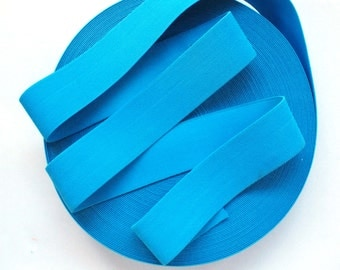 "2"" Turquoise Blue Stretch Elastic Band"