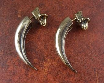 Talon Earrings - Bronze Eagle Talon Earrings
