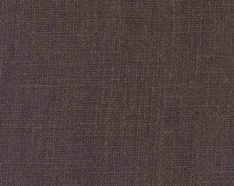 "Solid Brown European Linen Pillow Cover - Decorative Pillowcase 18""x18"""