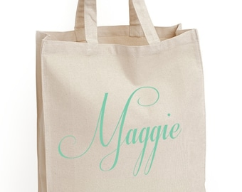 "4 ""The Capricco"" Tote Bags, Gift bags, Bridesmaid bags,in 60 colors to chose from by Modern Vintage Market"