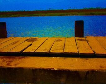 Pop Art Bayou Caddy Pier