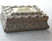 Ornate Jewelry Box Keepsake Box Trinket Box Handmade