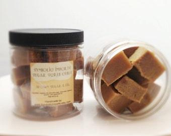 Sugar Scrub Cubes - Brown Sugar and Fig - 8 oz. Jar