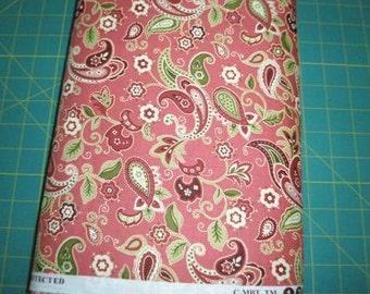 06831 -  MBT Textiles paisley floral  -  1 yard