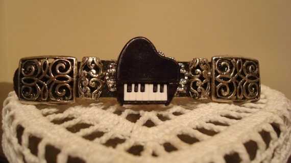Piano Music  Extra Large Barrette for Thick Hair